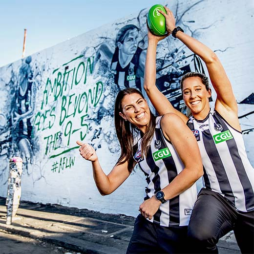 IAG/CGU																			Collingwood AFLW Sponsorship Activation