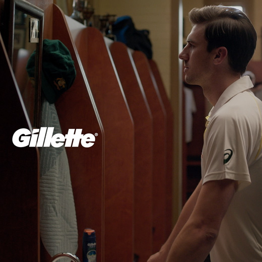 Gillette																			Close Matters 2018 TVC